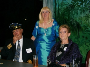 Dean Martin, Mae West and Endora (aka Paul Worsnop, Lynette Zito and Meg Ainsworth)