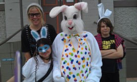 Easter Bunny & helpers