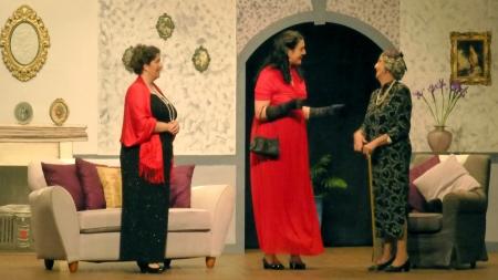 Enid (Odette Nettleton), Diana (Bree Johnston) and Mrs Packard (Meg Ainsworth) - Opening Night