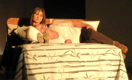 "Erin Reeves and Gordon Hook in ""Two in a Room"" - Opening Night"